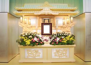 日本ライン 白木祭壇