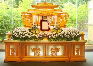 西可児 白木祭壇